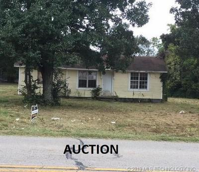 Muldrow Single Family Home For Sale: 476292 E 1060 Road
