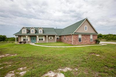 Collinsville Single Family Home For Sale: 18492 S View Point Court