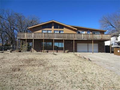Mannford Single Family Home For Sale: 134 Lakeview Drive