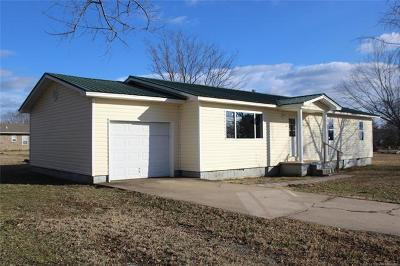 Salina OK Single Family Home For Sale: $89,000