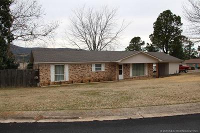Poteau OK Single Family Home For Sale: $109,900