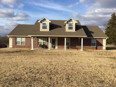 Okmulgee County Single Family Home For Sale: 1601 W Eufaula Street