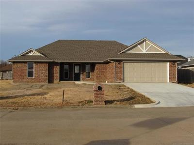 Muskogee Single Family Home For Sale: 3320 Gawf Lane