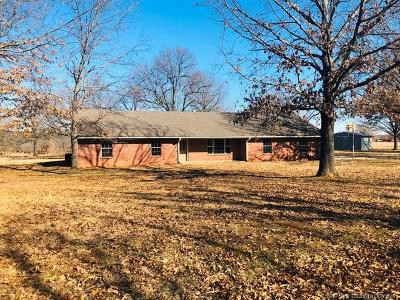 Wilburton Single Family Home For Sale: 9555 156th Road