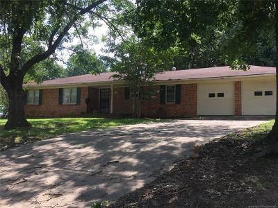 Muskogee Single Family Home For Sale: 801 N Anthony Street