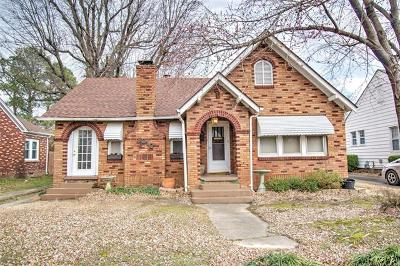 Muskogee Single Family Home For Sale: 1010 Chestnut Street
