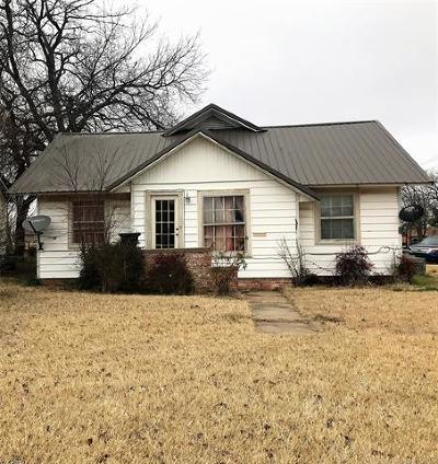 Ada Single Family Home For Sale: 600 W 19th Street