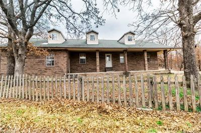 Okmulgee Single Family Home For Sale: 11455 Celia Berryhill Road