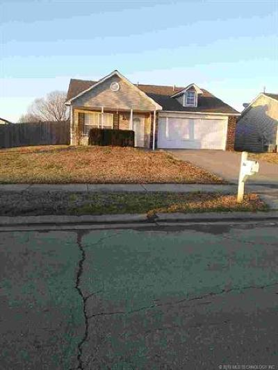 Owasso Single Family Home For Sale: 15007 E 89th Street North