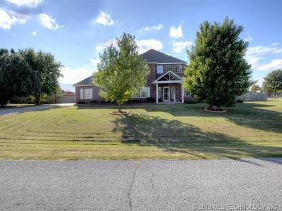 Collinsville Single Family Home For Sale: 11872 N 152nd East Avenue