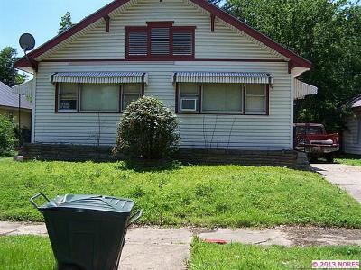 Muskogee Multi Family Home For Sale: 537 Baltimore Street