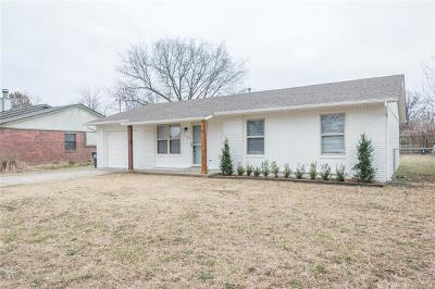 Glenpool Single Family Home For Sale: 1160 E 144th Place