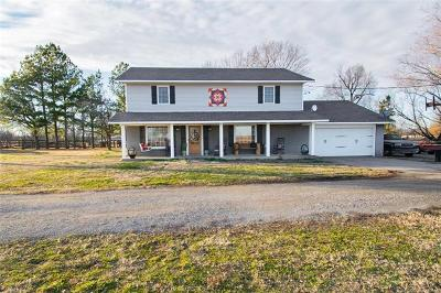 Pryor Single Family Home For Sale: 5378 450 Road