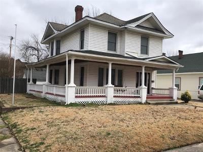 Muskogee Single Family Home For Sale: 1158 Cherry Street