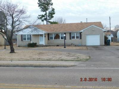 Muskogee Single Family Home For Sale: 2901 Gibson Street