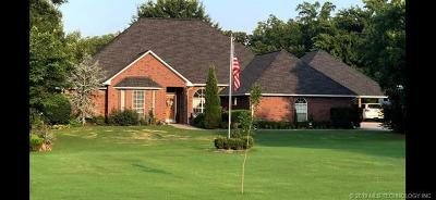 Fort Gibson OK Single Family Home For Sale: $439,000