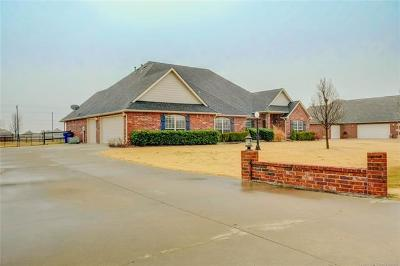 Collinsville Single Family Home For Sale: 5874 E 147th Street North