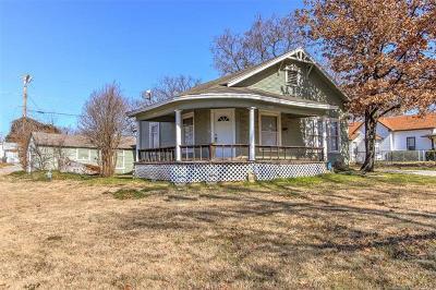 Sapulpa Single Family Home For Sale: 1301 E McKinley Avenue