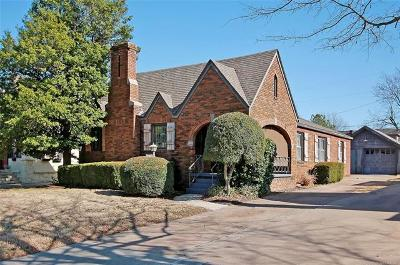 Tulsa Single Family Home For Sale: 1711 S Florence Avenue