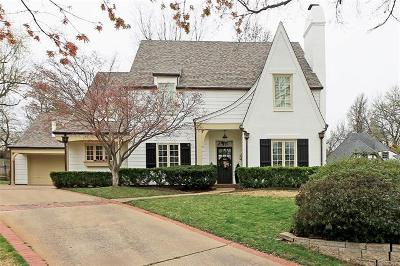 Tulsa Single Family Home For Sale: 2525 S Columbia Avenue