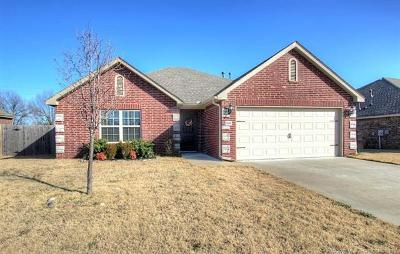 Owasso OK Single Family Home For Sale: $187,500