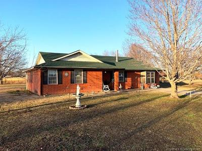 Inola Single Family Home For Sale: 15065 E 600 Road