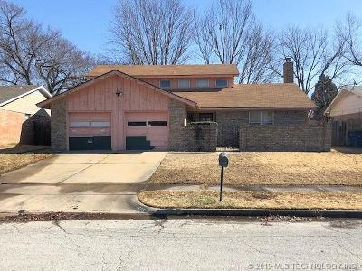 Single Family Home For Sale: 1525 S 124th East Avenue