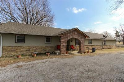 Catoosa Single Family Home For Sale: 29255 S 4090 Road