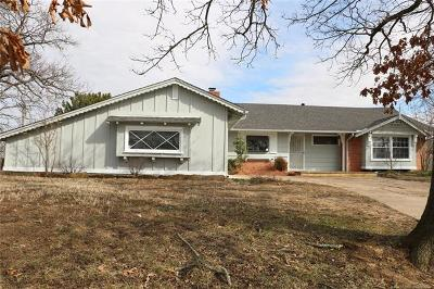 Sand Springs Single Family Home For Sale: 705 Oak Ridge Drive