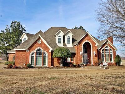Sallisaw Single Family Home For Sale: 466834 E 1054 Road