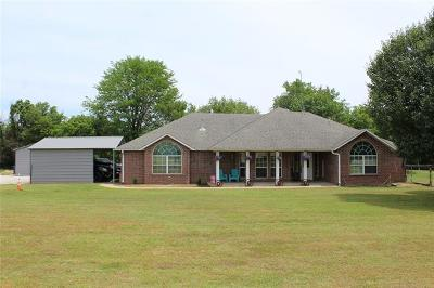 Claremore Single Family Home For Sale: 25375 S Riverbirch Road