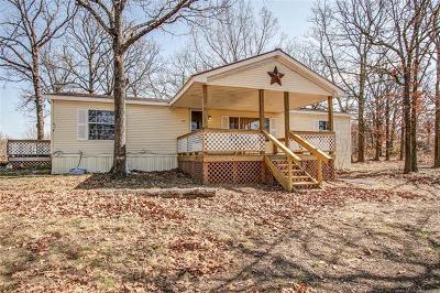 Tahlequah OK Manufactured Home For Sale: $185,000