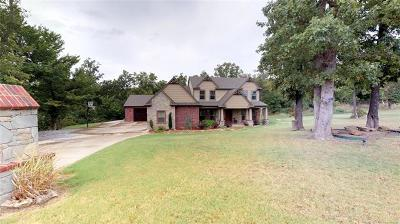 Inola Single Family Home For Sale: 18405 E Watson Way