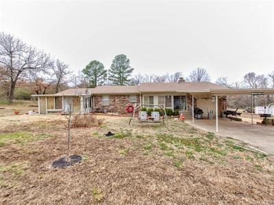 Wagoner Single Family Home For Sale: 71821 S 313 Road