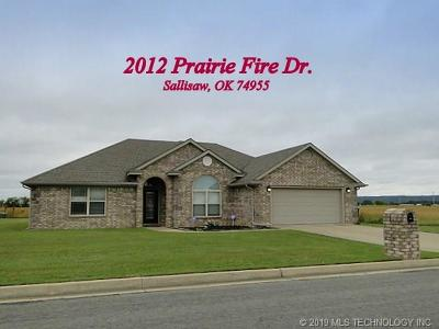 Sallisaw Single Family Home For Sale: 2012 Prairie Fire Drive