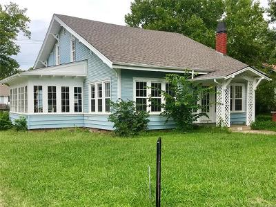 Sapulpa Single Family Home For Sale: 420 S Hickory Street