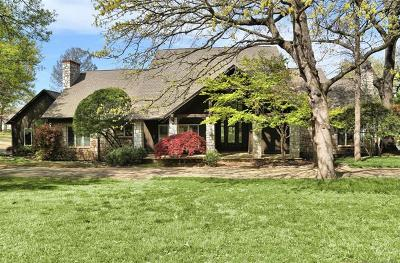 Tulsa Single Family Home For Sale: 9722 S Oswego Avenue