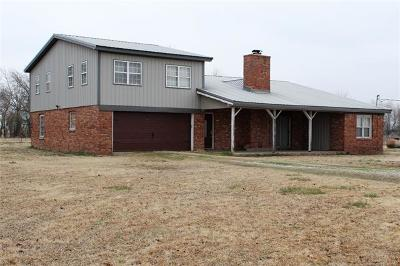Okmulgee Single Family Home For Sale: 13570 N 280 Road