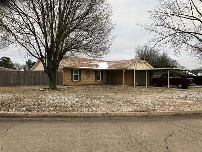Muskogee Single Family Home For Sale: 4702 Prairie Dog Road