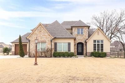 Owasso Single Family Home For Sale: 19004 E Twin Creeks Drive