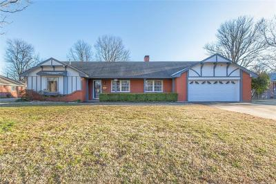 Muskogee Single Family Home For Sale: 2721 Jefferson Street