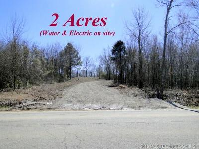 Sallisaw Residential Lots & Land For Sale: 1040 Road