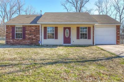 Coweta Single Family Home For Sale: 13865 S 287 East Avenue