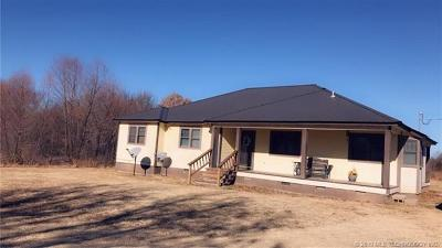 Sapulpa Single Family Home For Sale: 35029 W 331st Street S