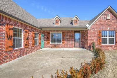 Claremore Single Family Home For Sale: 18715 Spring Creek Lane