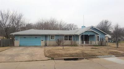 Tulsa Single Family Home For Sale: 1614 N Birmingham Avenue