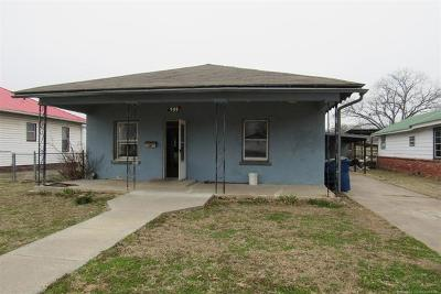 Pawhuska Single Family Home For Sale: 909 E 9th Street