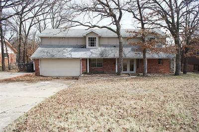Sapulpa Single Family Home For Sale: 1109 S Division Street