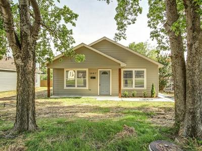 Sapulpa Single Family Home For Sale: 1005 E Pfendler Avenue