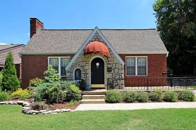 Tulsa Single Family Home For Sale: 259 Waverly Drive